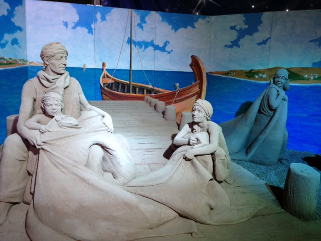 Sand Nativity